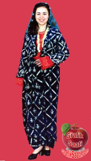 Kütahya yöresel kıyafetler Çatkılı şalvar