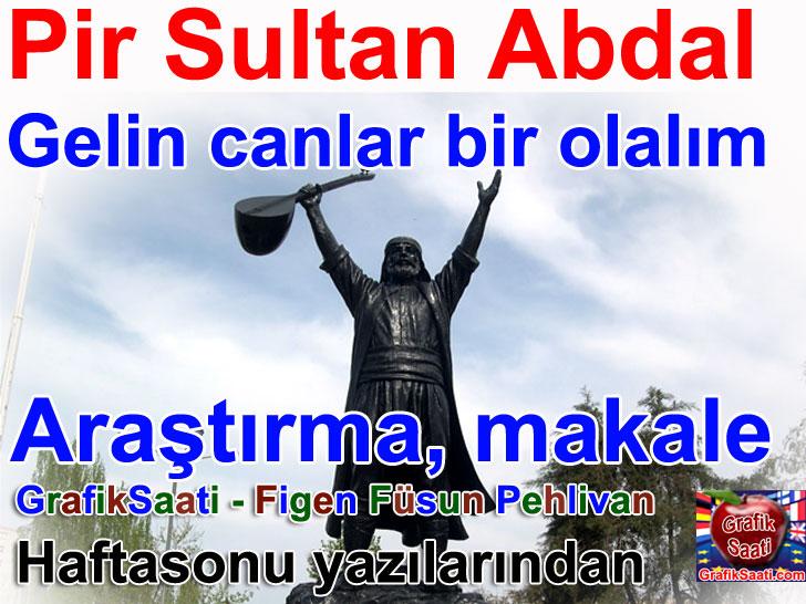 yoksulun sultani pir sultan abdal hakkinda arastirma makale figen fusun pehlivan yazdi
